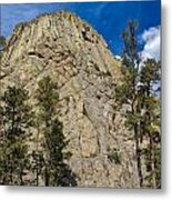 The Other Side Of Devils Tower Metal Print