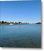 The Other Side Of Potter Pond Metal Print
