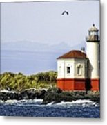 The Other Side Of The Coquille River Metal Print