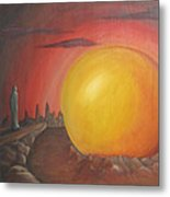 The Other Side Of The Sunset Metal Print
