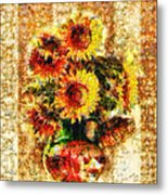 The Other Sunflowers Metal Print