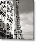 The Other View Of The Eiffel Tower Metal Print