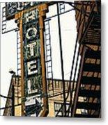 The Otis Hotel Metal Print