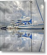 The Outer Pier Metal Print