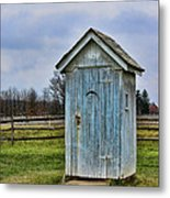 The Outhouse - 4 Metal Print