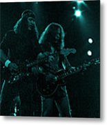 The Outlaws - Hughie Thomasson And Billy Jones-1st Release Special Price Metal Print