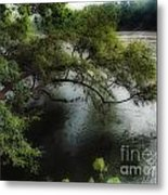 The Overhang Metal Print