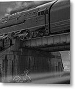 The Overpass 2 Panoramic Metal Print