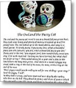The Owl And The Pussy Cat Metal Print by John Chatterley