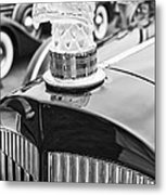 The Packard Eagle Hood Ornament At The Concours D Elegance. Metal Print