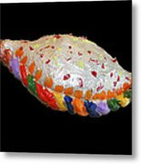 The Painted Calzone Metal Print
