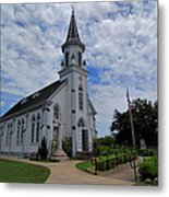 The Painted Churches Metal Print