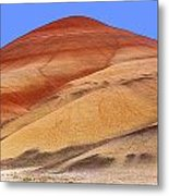 The Painted Hill Metal Print