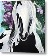 The Painted One Metal Print