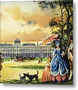 The Palace Of The Tuileries Metal Print