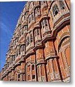 The Palace Of The Winds In Jaipur Metal Print