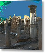 The Palaestra -temple Of Apollo Metal Print