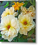 The Palest Yellow Just Like Lemon Sherbet Metal Print