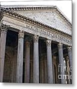 The Pantheon Rome Metal Print