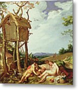The Parable Of The Wheat And The Tares Metal Print