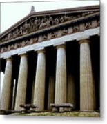 The Parthenon Nashville Tn Metal Print