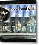 The Partridge And Pear Restaurant Metal Print