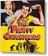 The Party Crashers, Connie Stevens Metal Print