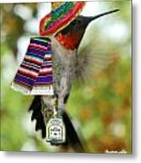 The Partying Hummer Metal Print