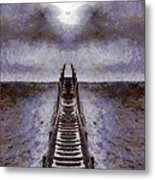 The Path To Heaven Metal Print by Dan Sproul