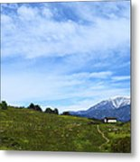 The Path To The Heart Metal Print