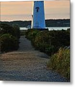 The Path To The Lighthouse Metal Print