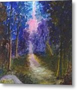 The Path Up Yonder Metal Print