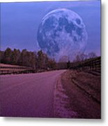 The Peace Moon  Metal Print by Betsy Knapp