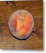 The Peach Metal Print