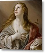 The Penitent Magdalene Metal Print by Guido Reni