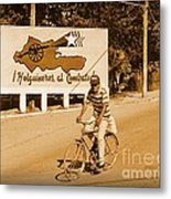 The People Of Holguin Are Fighters Metal Print