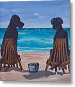 The Perfect Beach Day Metal Print