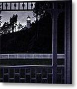 The Perfect Frame For The Heceta Lighthouse Metal Print