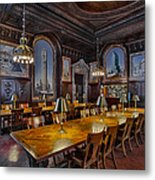 The Periodicals Room At The New York Public Library Metal Print