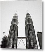 The Petronas Towers Malaysia Metal Print