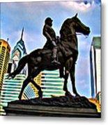 The Philadelphia General Metal Print