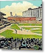 The Phillies Baker Bowl In Philadelphia Pa In 1914 Metal Print