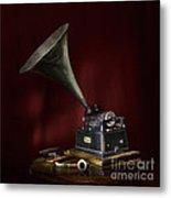 The Phonograph 5 Metal Print