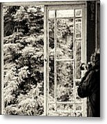 The Photographer's Quest Metal Print