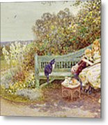 The Picture Book Metal Print