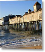 The Pier Metal Print by Michael Mooney