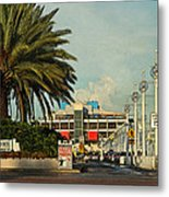 The Pier 2 -  St. Petersburg Fl Metal Print