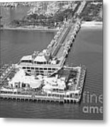 The Pier St Petersburg Fl Metal Print