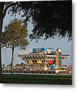 The Pier - St. Petersburg Fl Metal Print