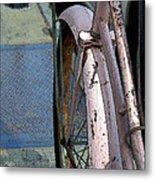 The Pink Bicyclette Metal Print